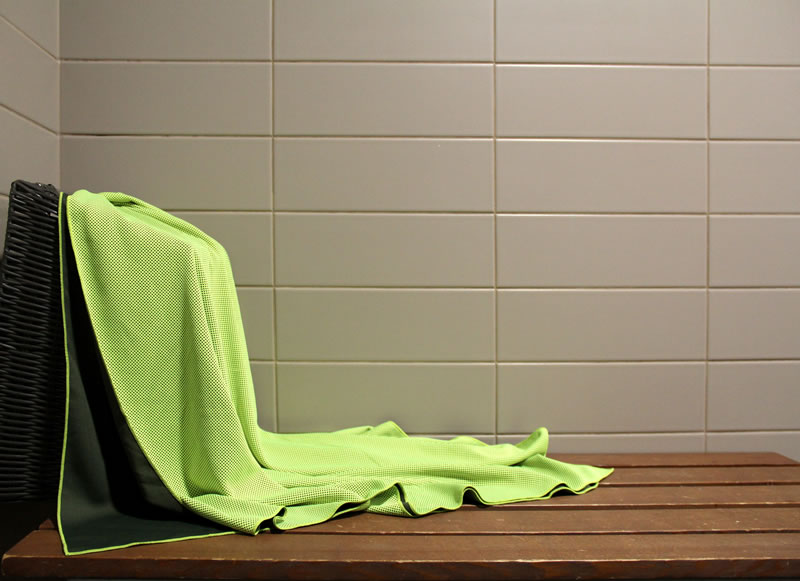 Chilly Pashmina Green Towel