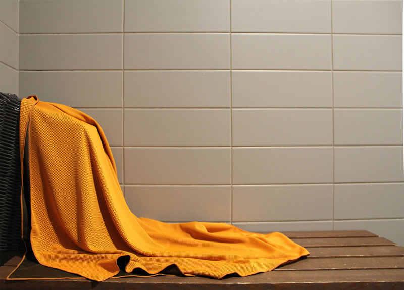 Chilly Pashmina Orange Towel