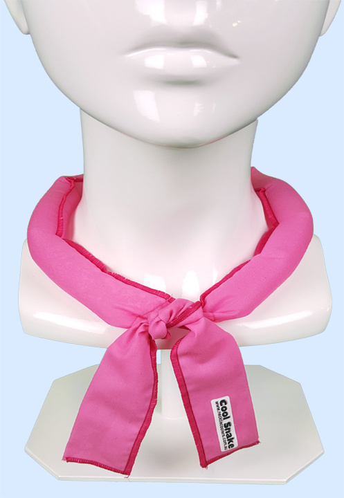 Neck Tie Cooler - Bright Pink