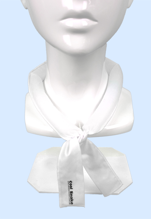 Neck Tie Cooler - White