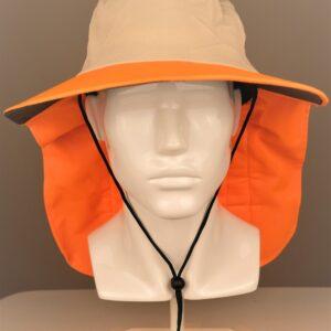 Cooling Hats Adventurer Cool Hat Beige/Orange