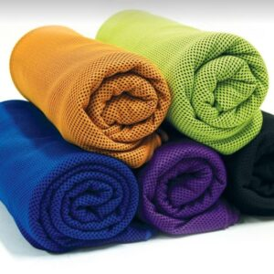 Cooling Towels Chilly Pashmina rolled 5 colours
