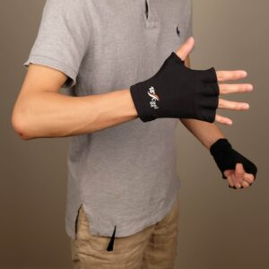 10366 Open Palm Gloves Black